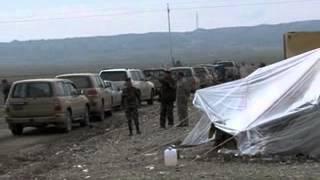 قوات بيشمه ركة في طريقها الى دخول  كركوك في 24/11/2012