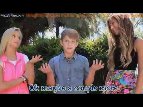 Taylor Swift - Shake It Off (MattyBRaps Cover ft Skylar Stecker & Jordyn Jones) Lyrics on video