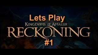 Lets Play Kingdoms of Amalur: Reckoning #1 - Ein Lebender Toter [German / Blind]