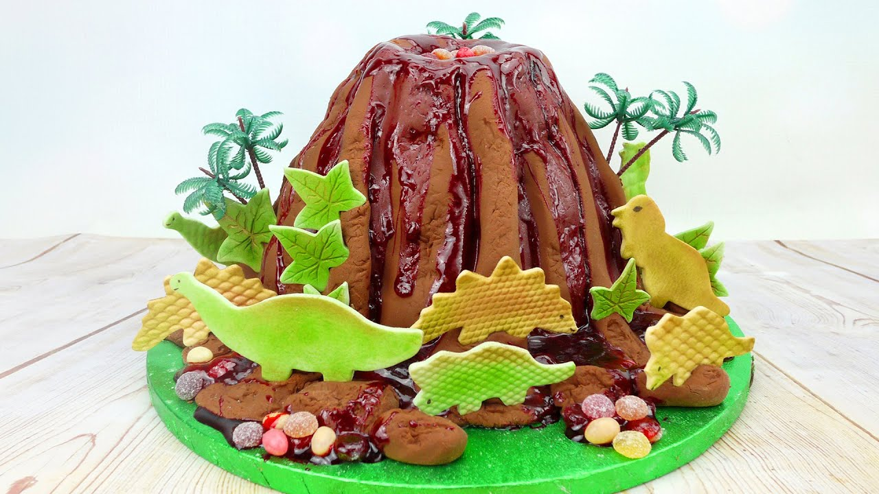 How To Make A Working Volcano Cake