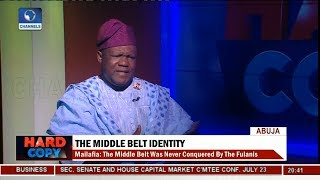 The Middle Belt Not Just A Geographical Expression - Obadiah Mailafia Pt 1 | Hard Copy |
