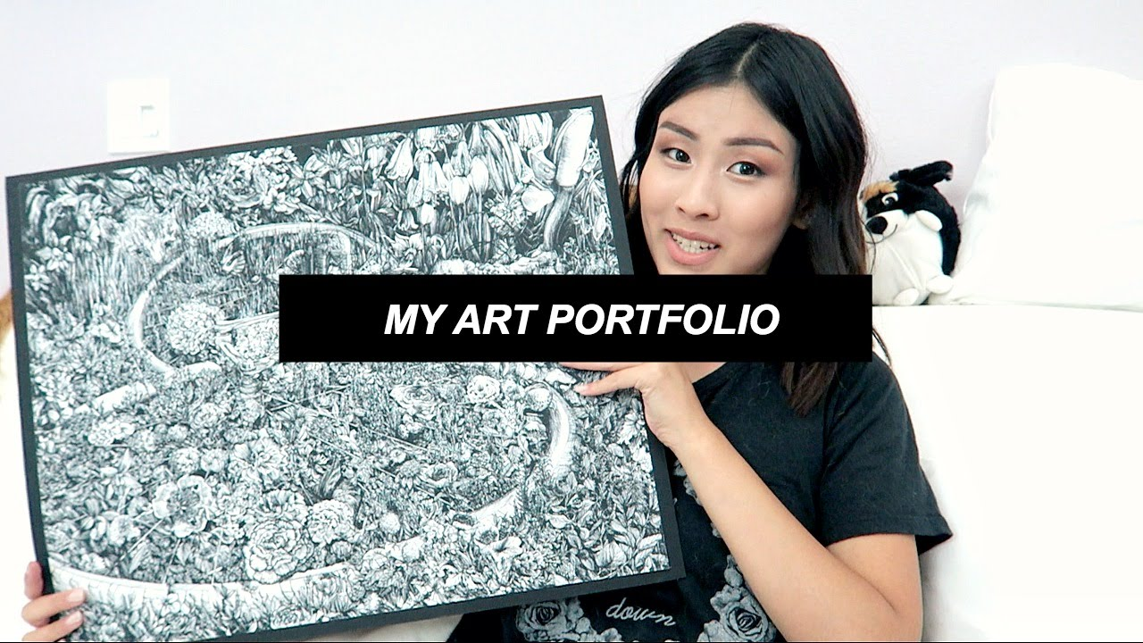 my art accepted risd parsons portfolio youtube