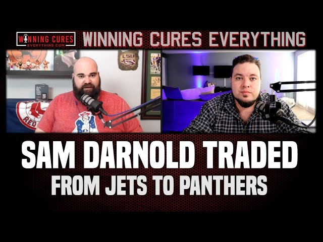 Jets trade Sam Darnold to Panthers for a bag of chips