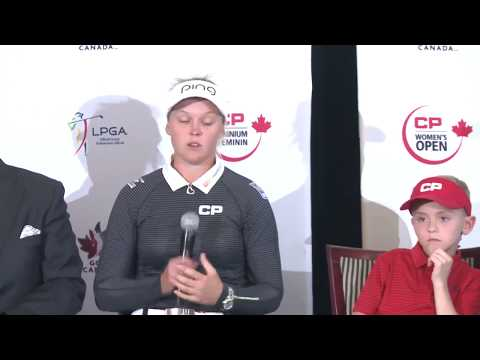 Questions following Media Day Press Conference at the Ottawa Hunt Club for the CP Women's Open