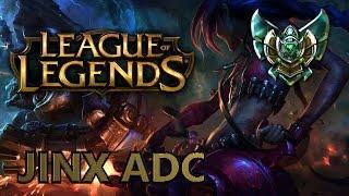 Zagrajmy w League of Legends: Ranked - Jinx Adc - Platyna IV
