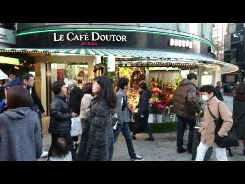 Le Cafe Doutor Ginza / Timeshift Video