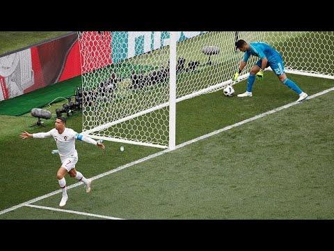 Le Portugal de Ronaldo brise le rêve du Maroc thumbnail
