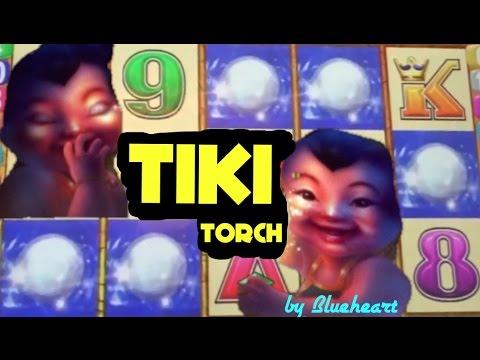 TIKI TORCH slot machine max bet bonus win FU DAO LE slot and MORE  WINS!