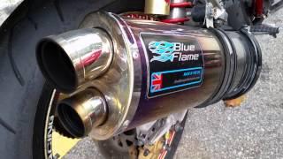 Honda CB400 Yoshimura vs Blueflame