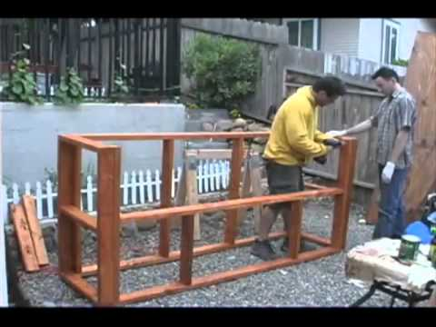 How To Build A Tiki Bar Youtube