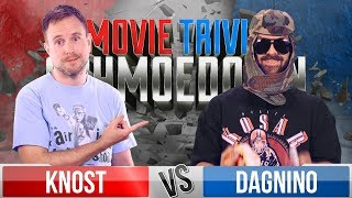 Matt Knost VS Tom Dagnino - Movie Trivia Schmoedown