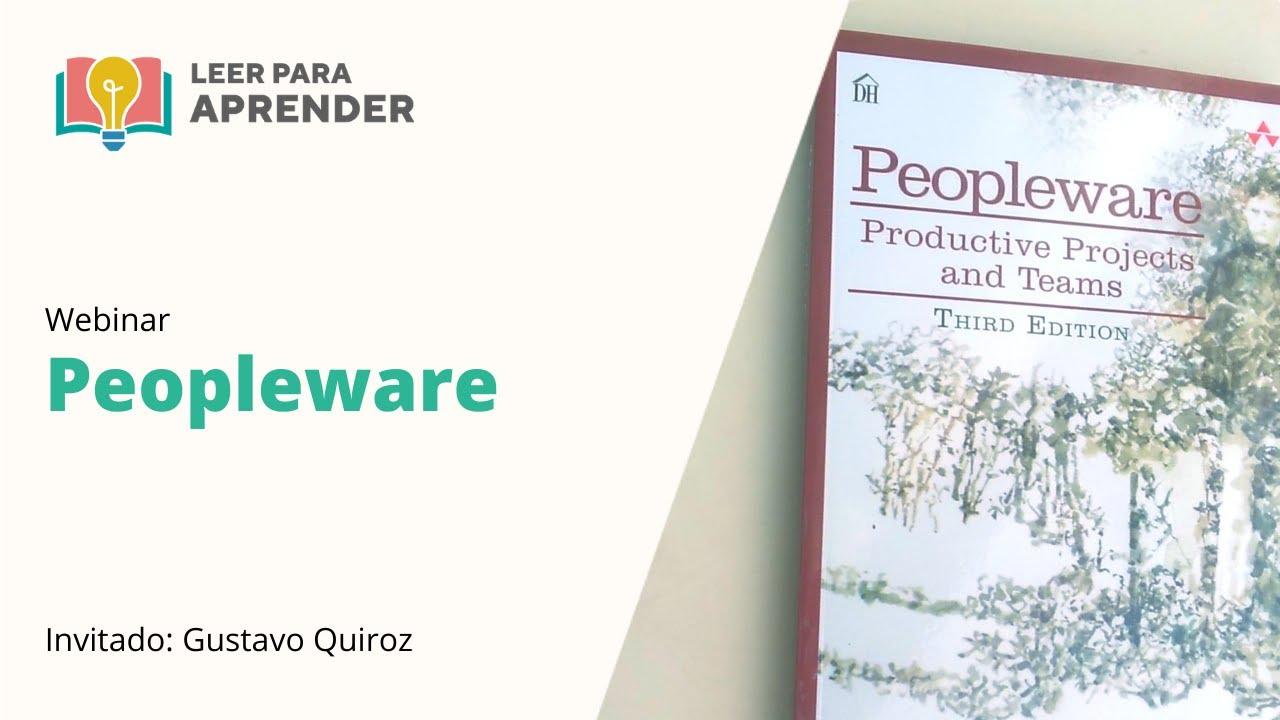 Leer para Aprender: Peopleware