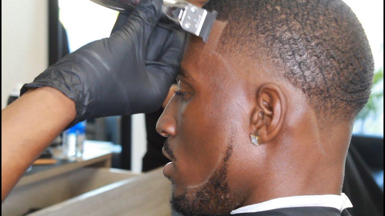 Crispy taper & lineup transformation  / Barber tutorial