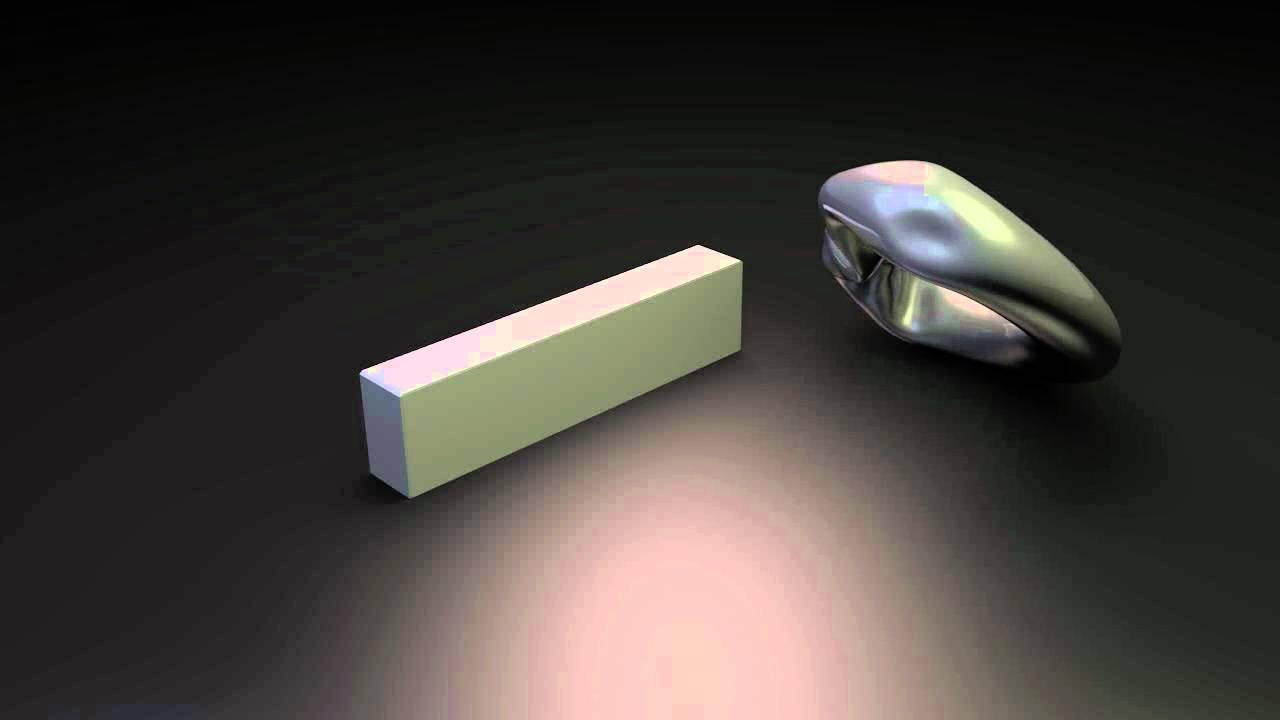 Blender softbody test  Metal deformation test
