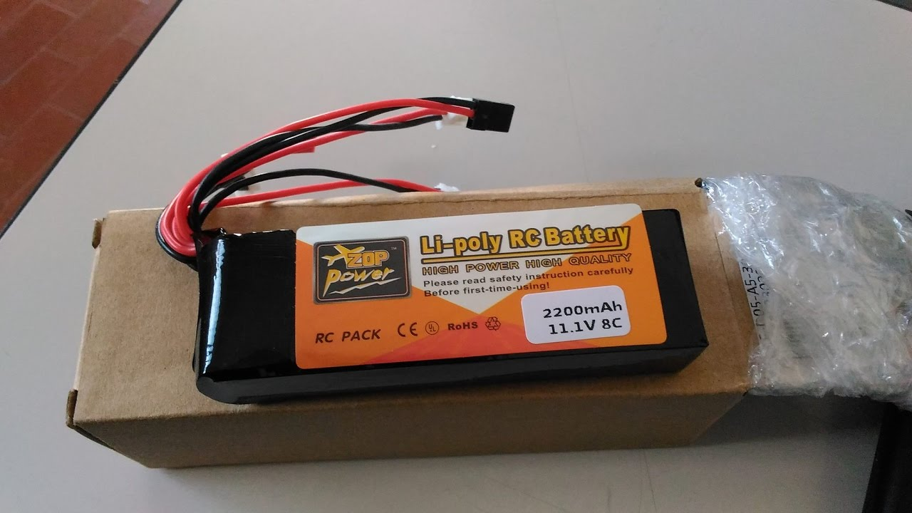 Lipo Battery 3s 111v 2200mah Come Installarla How To Install In Lippo Tplug Rc Mod H906a Hubsan H501s
