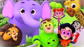 Zoo Song | Super Supremes Kids Cartoons | Videos & Songs for Children |