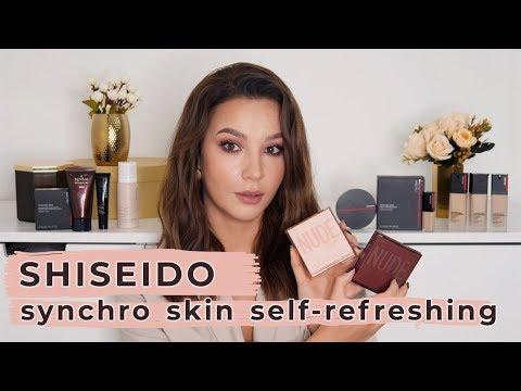 ТЕСТ-ДРАЙВ ЯПОНСКИХ ХИТОВ - Shiseido Self-Refreshing Foundation