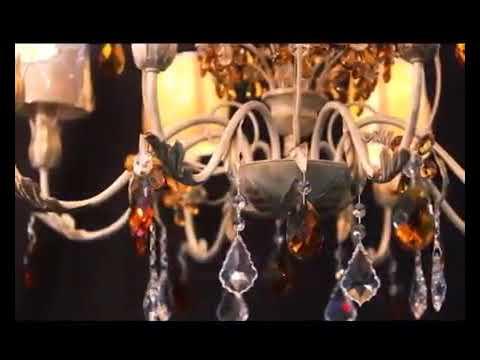 """Люстры """"Crystal Lux"""" - рекламный ролик"""