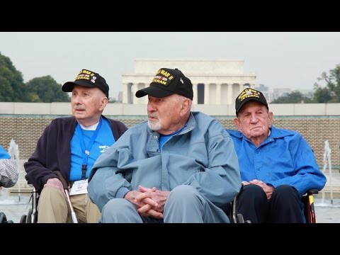 World War II Army Veteran Visits National Memorials for the First Time