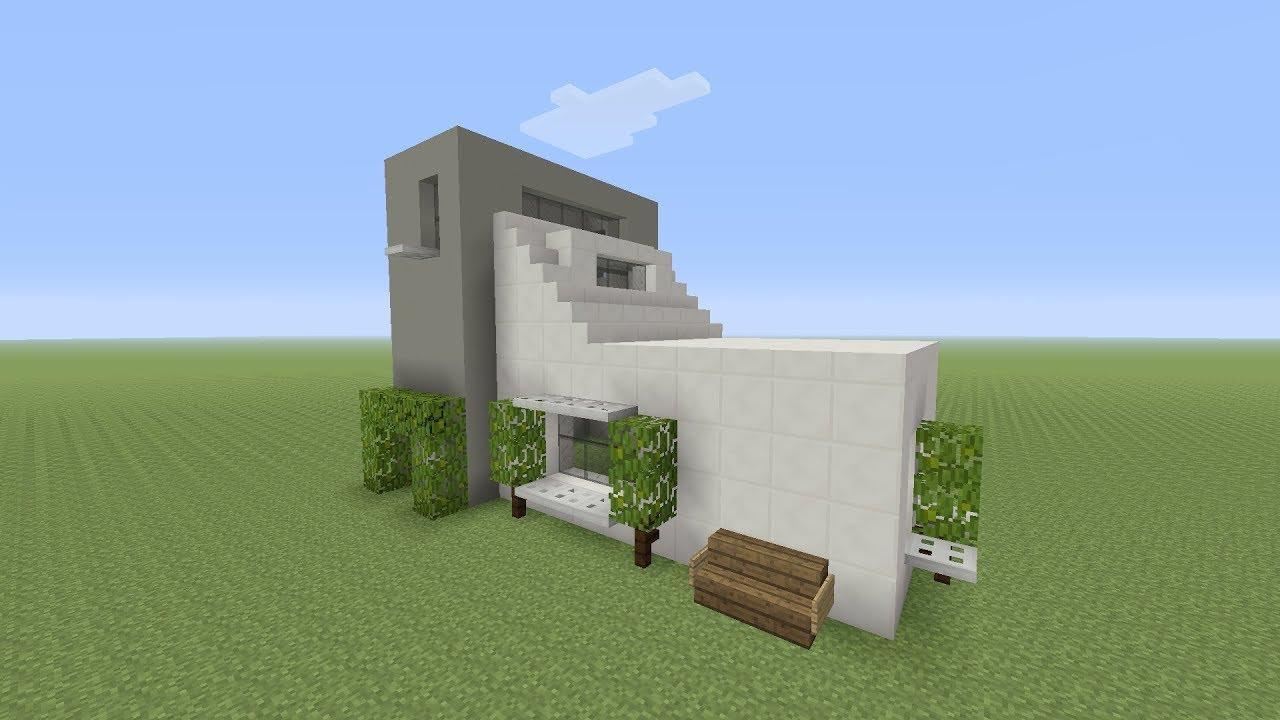 Minecraft een makkelijke moderne huis maken titoxnl for Huis maken minecraft