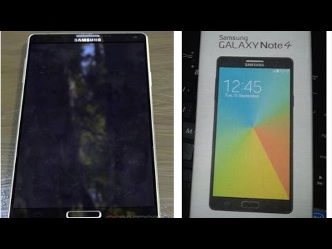 Samsung Galaxy Note 4 Preview - Design, Specs, Release Date