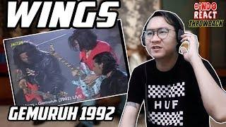 THROWBACK WINGS - 1992 GEMURUH #INDOREACT
