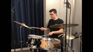 BILL STEWART Drum Solo Transcription   'Think Before You Think'   𝐵𝑎𝑛𝑑 𝑀𝑒𝑛𝑢 (2018)