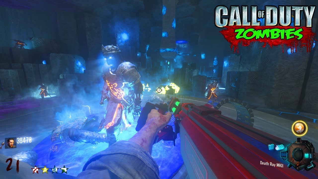 RAYGUN DEATH MACHINE ORIGINS EASTER EGG MOD! - BLACK OPS 3 ZOMBIE  CHRONICLES DLC 5 GAMEPLAY!