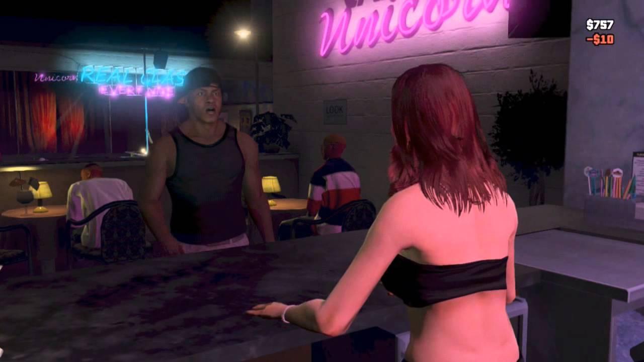 Gta 5 stripperin nackt