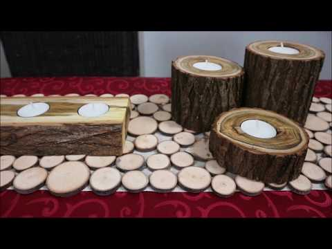 4 Easy DIY Ideas from Logs and Branches