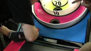 #488 Skeeball Extreme Arcade Machine Assembly Instructions! Tnt Amusements