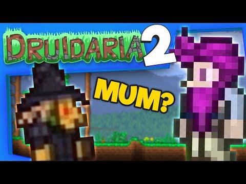 Terraria Season 2 #11 - Filbert's Mum Visits