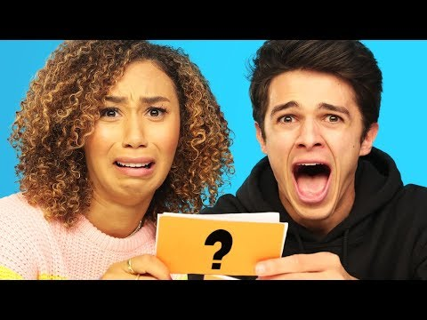 WOULD YOU RATHER ft MyLifeasEva and Brent Rivera  Brent Vs Eva