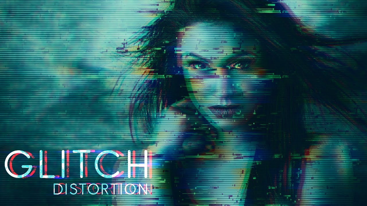 How to Create Glitch Distortion Photo Effect in Photoshop - PSDesire