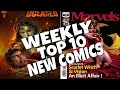 HOT TOP 10 NEW COMICS TO BUY FOR JUNE 5TH - NCBD WEEKLY PICKS FOR NEW COMIC BOOKS - MARVEL and more