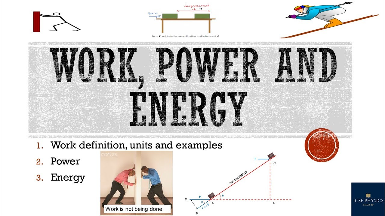 Work energy power physics pdf free