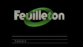 CANAL PLUS Jingle FEUILLETON
