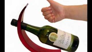 Curved Balancing Wine Bottle Holders By Silkwood Traders