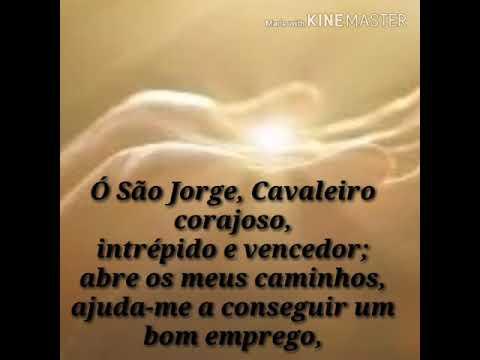 ORAÇÃO DE SÃO JORGE EMPREGO