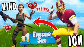 I'm training a 10-year-old kid in Fortnite and that happened. -Oskar)
