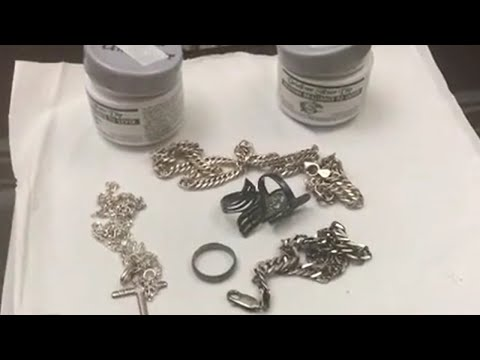 Silver  Cleaning - The FASTEST way to clean your Silver Accessories
