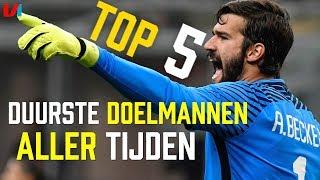 Top 5: Duurste Keepers Aller Tijden!