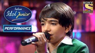 Nirvesh's Heartfelt Performance On 'Pathar Ke Sanam' | Indian Idol Junior
