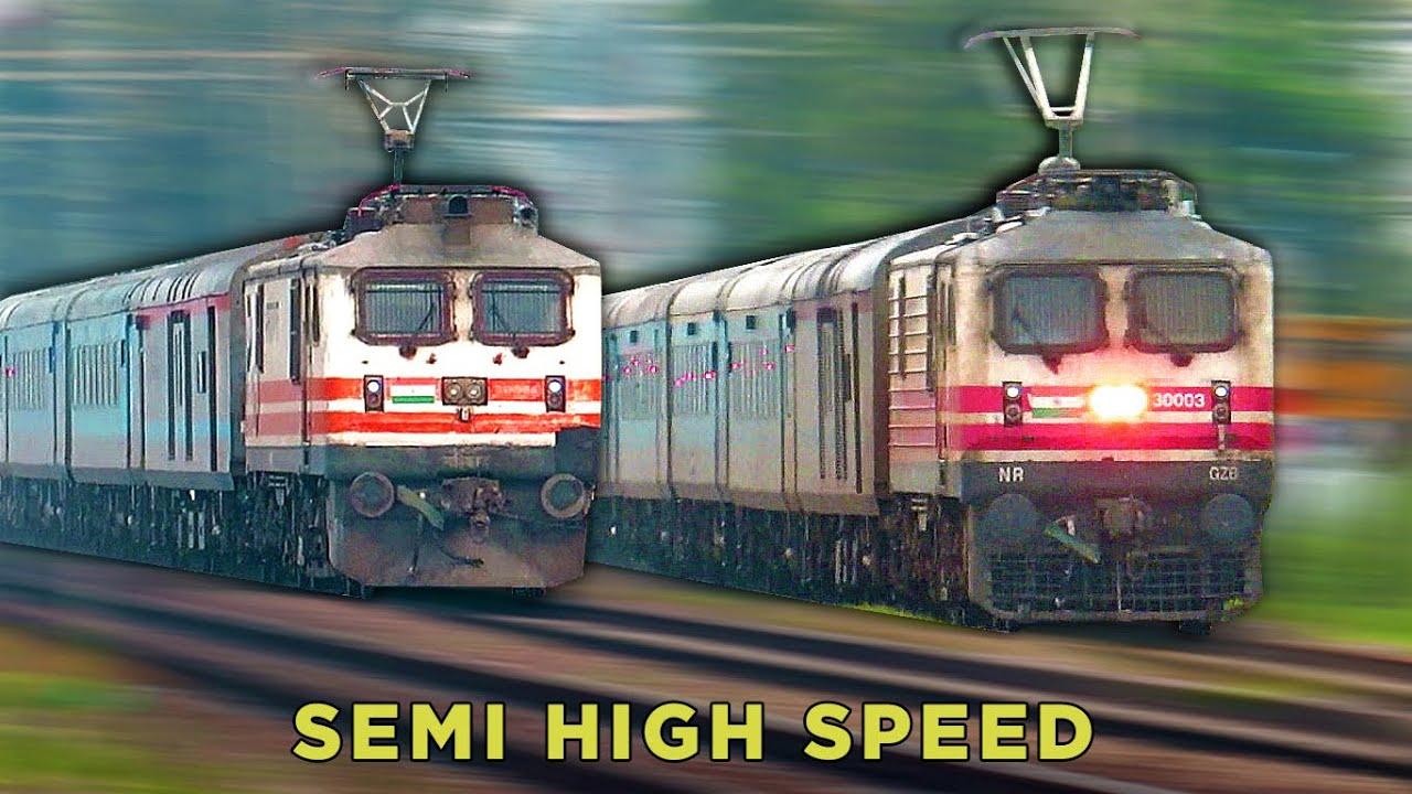 Semi High Speed Trains of India | Gatimaan Express vs Shatabdi Express