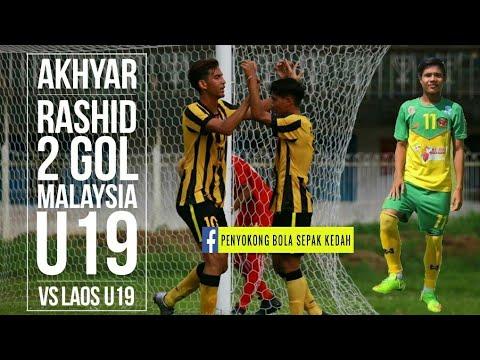Akhyar Rashid 2 Gol dalam Debut Pertama untuk Malaysia U19 ...