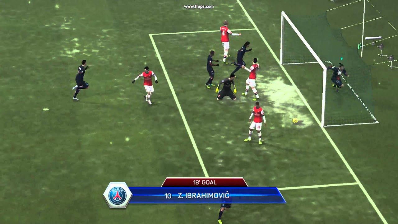Zlatan Ibrahimovic Bicycle Kick Goal FIFA 14 - YouTube Zlatan Ibrahimovic Bicycle Kick