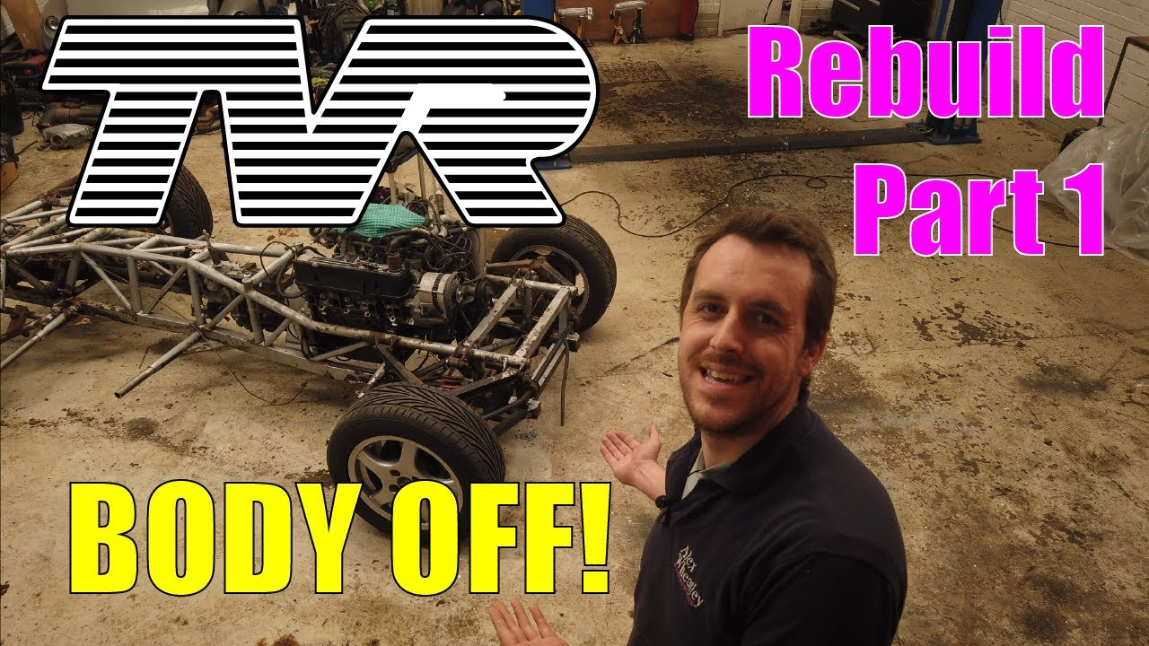 I removed the body of a car in under 4 minutes!