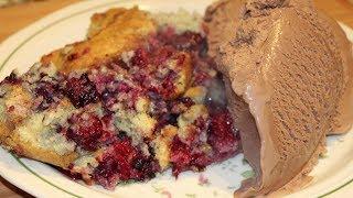 Cobbler / Dessert / Raspberry Cobbler / Cherylshomecooking