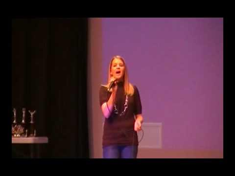 Singing @ Upwards Ceremony