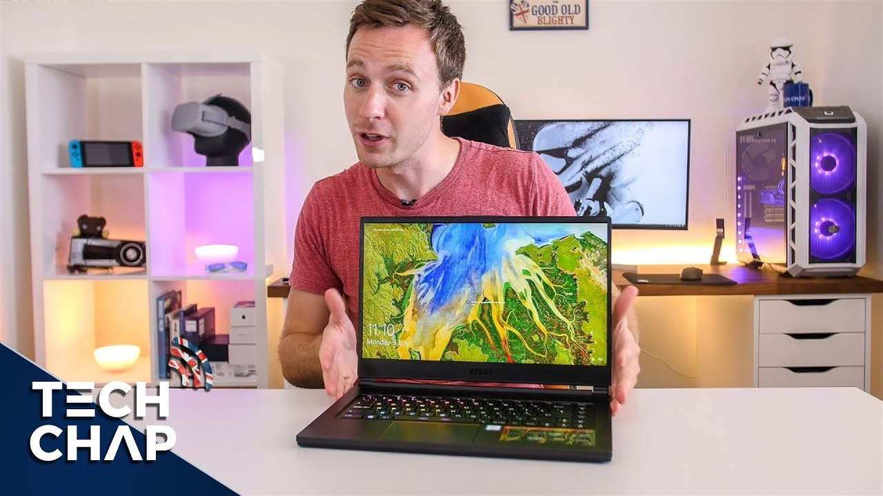 MSI GS65 Stealth Thin Review - 144hz & NVIDIA 1070 Max Q! | The Tech Chap